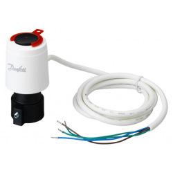 Термоэлектрический привод Danfoss TWA-A NC/S, 24V, RA длинна кабеля 0.95м (088H3114)