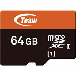 Карта памяти Team MicroSDXC 64GB UHS-I + SD-adapter (TUSDX64GUHS03)