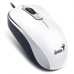 Мышка  проводная USB White 1000 dpi DX-110 (31010116102)
