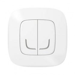 Умный беспроводовий выключатель 2-клавишний Valena Allure with NETATMO Белый (752587)