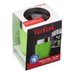 Термочашка Tefal TRAVEL CUP 0.2L silver/lime (K3080314)
