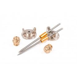 Фарборозпилювач пневматичний з верхнім бачком V = 1.0 л, D сопла 1.2, 1.5 та 1.8 мм,  MTX (MIRI573159)