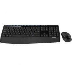 Комплект (клавiатура, миша) бездротовий Logitech MK345 Combo Black USB (920-008534) (920-008534)