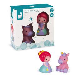 Набір іграшок для купання Janod Принцеса та єдиноріг J04706 (J04706)
