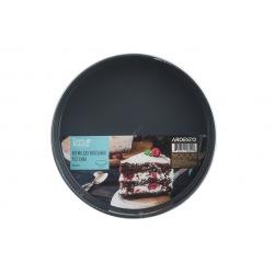 Форма для выпечки Ardesto Tasty baking круглая 26 см разъемная, серый,голубой, углеродистая сталь (AR2301T)