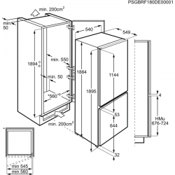 Холодильник Electrolux RNS9TE19S (RNS9TE19S)