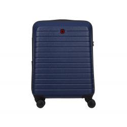 Чемодан пластиковый Wenger, Ryse, малый, 4 колеса (синий) (610148)