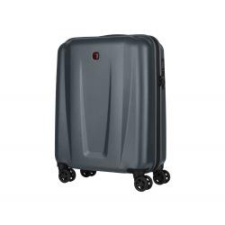 Чемодан пластиковый Wenger, Zenyt, малый, 4 колеса (серый) (610160)