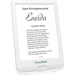 Електронна книга PocketBook 606, White (PB606-D-CIS)