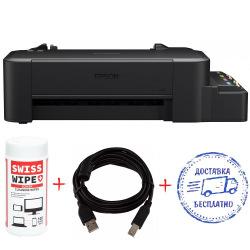 A4 Epson L120 Фабрика печати + кабель USB + салфетки