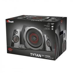 Колонки Trust 2.1 GXT 38 Tytan Ultimate Bass Speaker Set BLACK (19023)