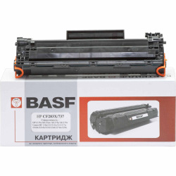 Картридж BASF замена Canon 737 и HP 83X CF283X (BASF-KT-737-9435B002)