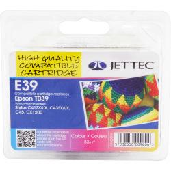 Аналог Epson C13T03904A Color (Кольоровий) Сумісний Картридж (НеориГінальний) JetTec