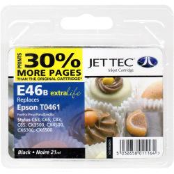 Аналог Epson C13T04714A Black (Чорний) Сумісний Картридж (НеориГінальний) JetTec