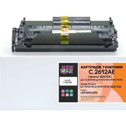 Картридж NEWTONE заміна HP 12A Q2612A и Canon 703 (C.2612AE)