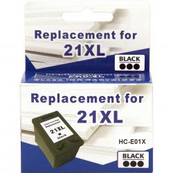 Картридж MicroJet для HP 21XL Black (HC-E01X)