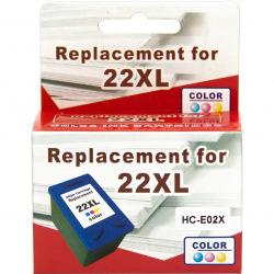 Картридж MicroJet для HP 22XL Color (HC-E02X)