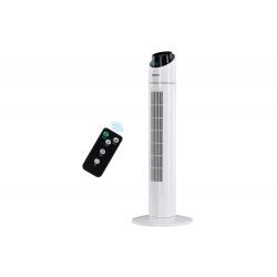 Напольный вентилятор Ardesto колонного типа, высота 90 см с пультом ДУ