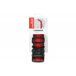 Багажный пояс, Wenger Luggage Strap, чёрно-красный (604597)