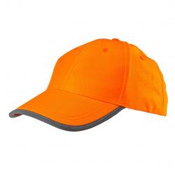 Бейсболка Neo сигнальная оранжевая, однотонная (81-794)