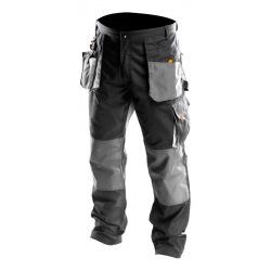 Брюки Neo робочие, размер XL/56, усиление из ткани Oxford, усиленные карманы, тройные швы (81-220-XL)