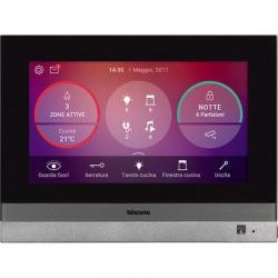 Сенсорный екран Bticino HOMETOUCH - 7-дюймовий для управления всеми функциями MyHOME_Up (3488)