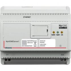 Сервер Bticino для асоциации устройств и для локального и удаленного управления функциями. (MYHOMESERVER1)