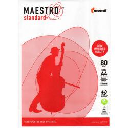 Бумага офисная Mondi Maestro Standart class С двухсторонняя 80 г/м кв, A4, 500л