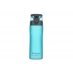 Бутылка Ardesto для води 600 мл, голуба, пластик (AR2205PB)