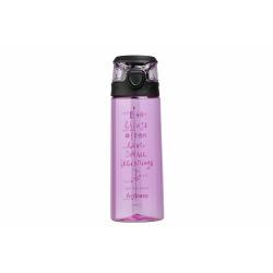 Бутылка Ardesto для води Big things 700 мл, рожева, пластик (AR2206PR)