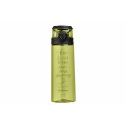 Бутылка Ardesto для води Big things 700 мл, зелена, пластик (AR2206PG)