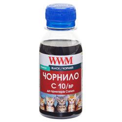 Чорнило WWM C10 Black для Canon 100г (C10/BP-2) пігментне