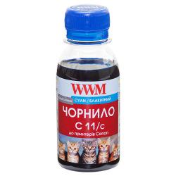 Чорнило WWM C11 Cyan для Canon 100г (C11/C-2) водорозчинне