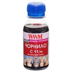 Чернила WWM C11 Magenta для Canon 100г (C11/M-2) водорастворимые
