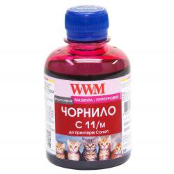 Чорнило WWM C11 Magenta для Canon 200г (C11/M) водорозчинне