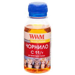 Чорнило WWM C11 Yellow для Canon 100г (C11/Y-2) водорозчинне