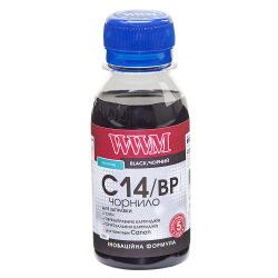Чорнило WWM C14 Black для Canon 100г (C14/BP-2) пігментне