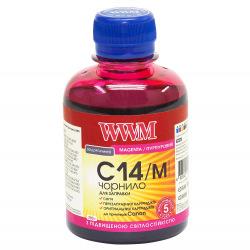 Чорнило WWM C14 Magenta для Canon 200г (C14/M) водорозчинне