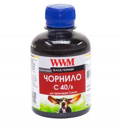 Чернила WWM C40 Black для Canon 200г (C40/B) водорастворимые