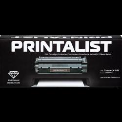 Картридж PRINTALIST 047 заміна Canon 2164C002 Black (Canon-047-PL)