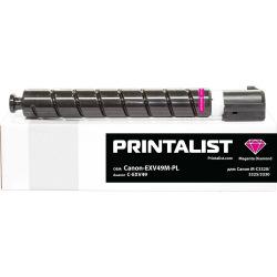 Туба PRINTALIST C-EXV49 заміна Canon 8526B002 Magenta (Canon-EXV49M-PL)