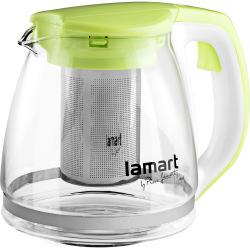 Чайник заварочний Lamart скляний 1,1л (LT7026)