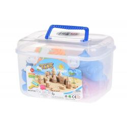 Волшебный песок Same Toy Omnipotent Sand Джунглі 0,5 кг (розовый) 8ед.  (HT720-5UT)