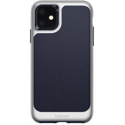 Чехол Spigen для iPhone 11 Neo Hybrid, Satin Silver (076CS27195)