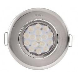 Светильник точечный встраиваемый Philips 47041 LED 5W 4000K  Nickel (915005089401)