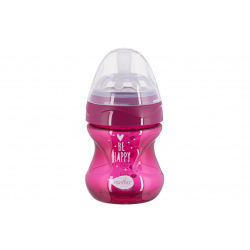Детская Антиколиковая бутылочка Nuvita NV6012 Mimic Cool 150мл пурпурная (NV6012PURPLE)