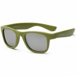 Детские солнцезащитные очки Koolsun цвета хаки серии Wave (Розмір: 1+) (KS-WAOB001)