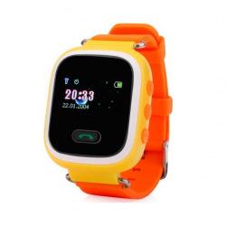 Дитячий GPS годинник-телефон GOGPS ME K11 Жовті (K11YL)