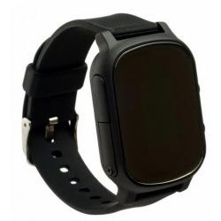 Детские GPS часы-телефон GOGPS ME К20 Черный (K20BK)
