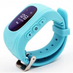 Детские GPS часы-телефон GOGPS ME K50 Бирюзовый (K50TR)